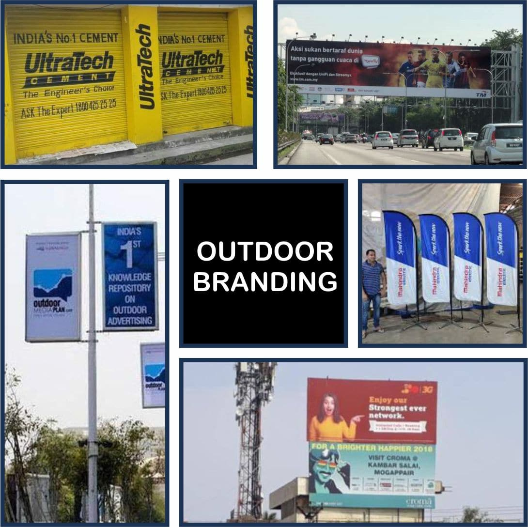 Outdoor branding in India